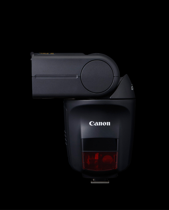 Side view of the Canon Speedlite 470EX-AI.